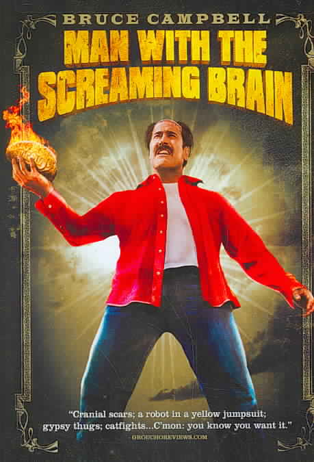 MAN WITH SCREAMING BRAIN BY CAMPBELL,BRUCE (DVD)